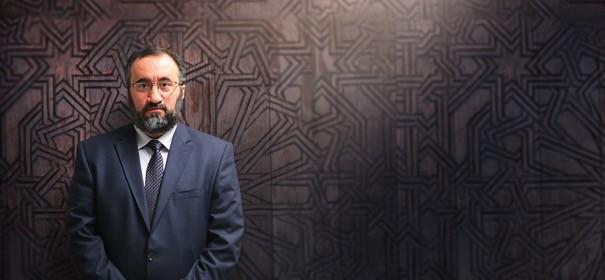 Burhan Kesici - Islamrat-Vorsitzender. © Islamrat