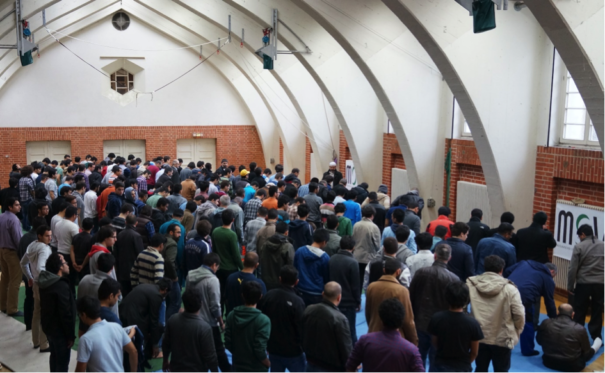 Freitagsgebet auf dem Campus. © MSV e.V.