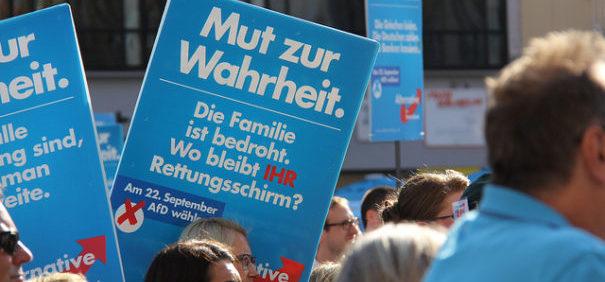 AfD Kundgebung @ metropolico.org auf flickr, bearbeitet by IslamiQ.