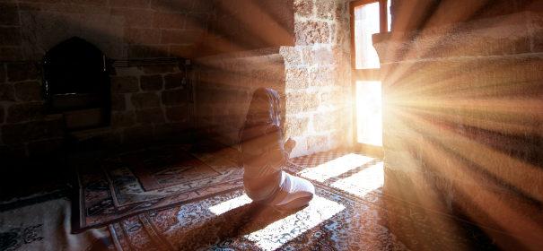 Beten, Muslime, Islam, Spiritueller Impfstoff © Shutterstock