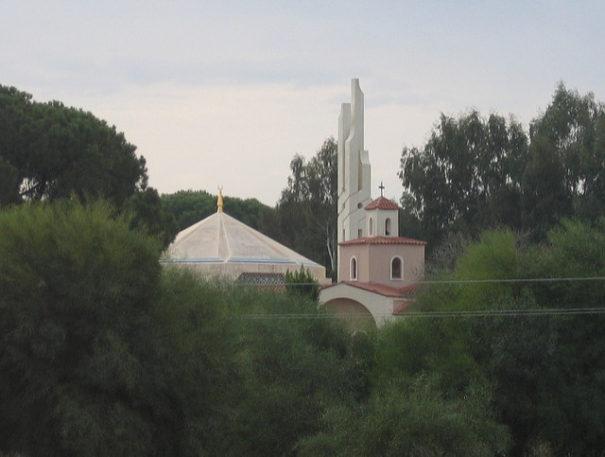 Symbolbild: Moschee, Kirchen und Synagogen an einem Ort by alexander wehrle auf flickr CC 2.0 bearbeitet by IslamiQ