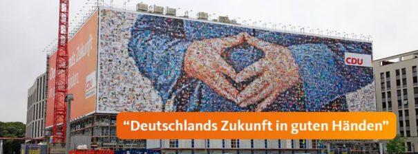 CDU © Facebook CDU bearbeitet by IslamiQ