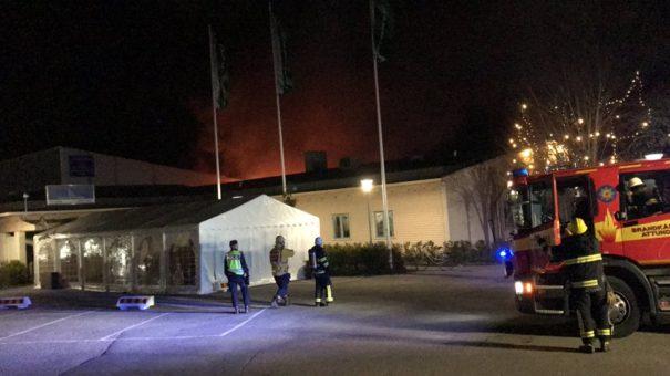 Brandanschlag auf Moschee in Stockholm