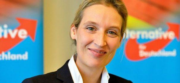 AfD, Alice Weidel, Spitzenkandidatin