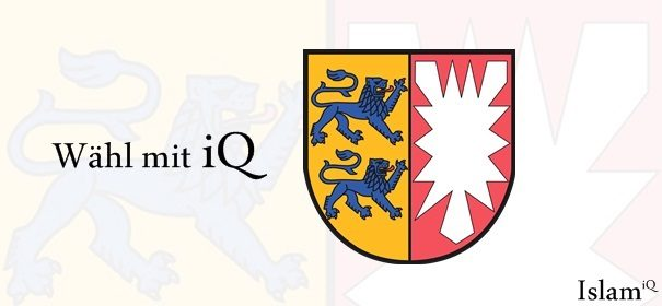 Banner Schleswig-Holstein - Wähl mit iQ © IslamiQ