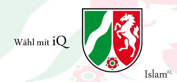 NRW Banner - Wähl mit iQ © IslamiQ