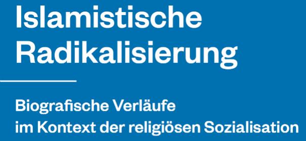 """Screenshot: Ausschnitt Cover der Studie """"Islamische Radikalisierung. Biogarfische Verläufe im Kontext der religiösen Sozialisation und des radikalen Milieus"""" © by IslamiQ"""