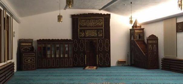 Innenraum der Ditib Fatih Moschee in Helmstedt Innenraum der Ditib Fatih Moschee in Helmstedt