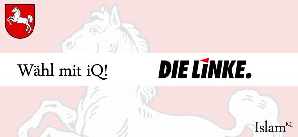Landtagswahl Niedersachsen - Die Linke © iQ.