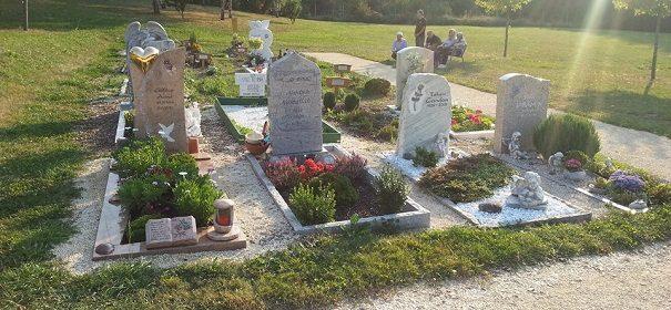 Muslimische Gräber in Aalen