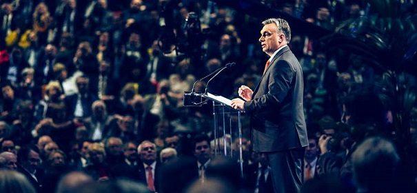 Viktor Orban © Facebook, bearbeitet by iQ.