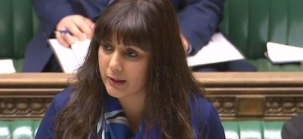 Nus Ghani. © twitter/screenshot