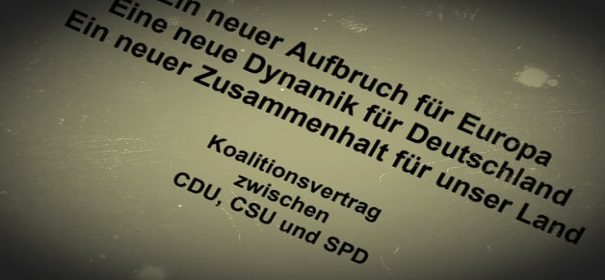 Koalitionsvertrag © Facebook, bearbeitet by iQ.