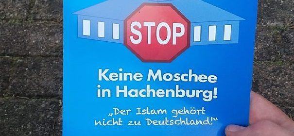 Demo gegen Moschee in Hachenburg