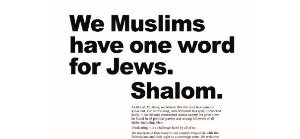 Britische Muslime solidarisieren sich © Twitter, bearbeitet by iQ.