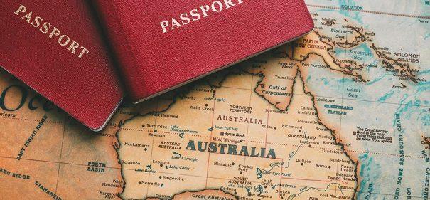 Symbolbild: Australien, Muslime, Migration © shutterstock bearbeitet by IslamiQ.