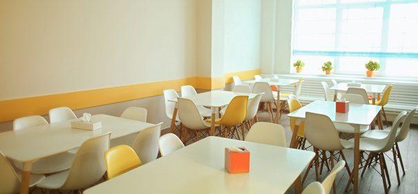 Schulkantine, Mittagsessen, Helal