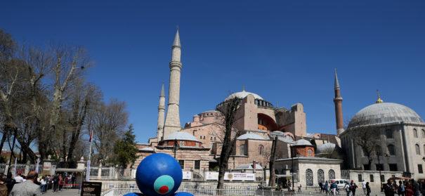 Hagia-Sophia in Istanbul © ( Berk Özkan - Anadolu Agency )