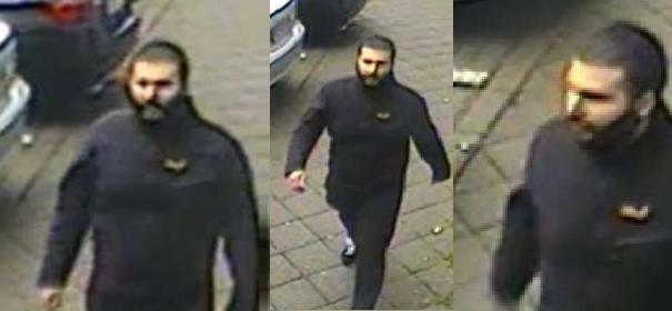 Fahndungsfoto - Messerstecher von Moschee-Vorfall