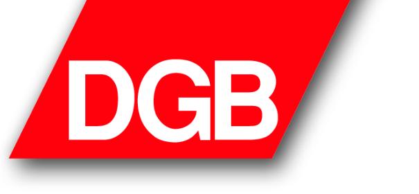 Deutscher Gewerkschaftsbund © Facebook by DGB, bearbeitet by iQ.
