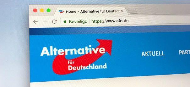 Symbolfoto: AfD, Verfassungsschutz © Shutterstock, bearbeitet by islamiQ