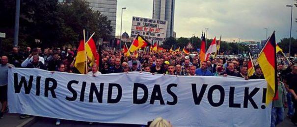 Rechte Szene in Cottbus (c)facebook, bearbeitet by islamiQ