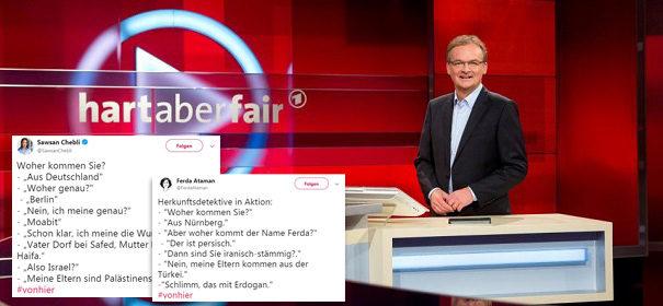hart aber fair - #vonhier © Facebook, bearbeitet by iQ.