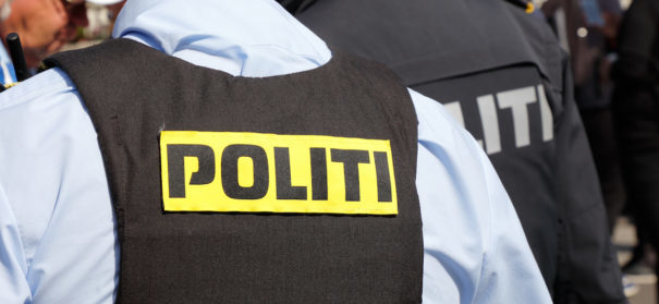 Kopenhagen Polizei Dänemark