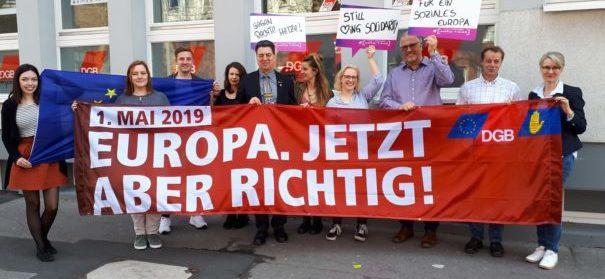 Chemnitz: Europa. Jetzt aber Richtig! (c)facebook, bearbeitet by iQ