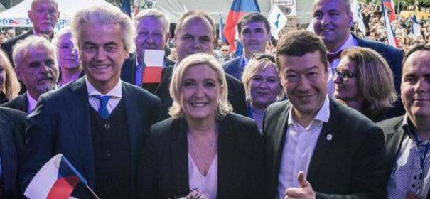 Rechtspopulisten in Prag