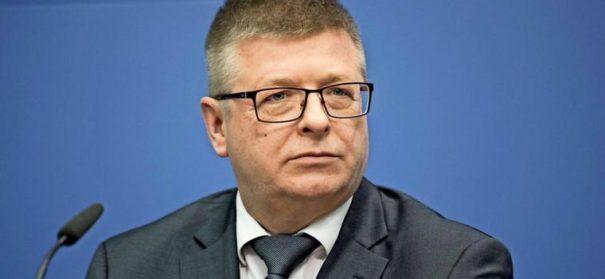 Verfassungsschutzpräsident Thomas Haldenwang (c)Facebook, bearbeitet by iQ