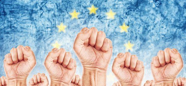 Gewerkschaften und Migranten, bearbeitet by iQ