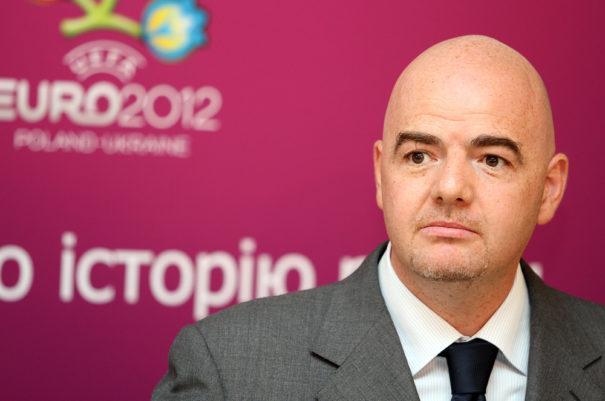 FIFA-Chef Gianni Infantino (c)shutterstock, bearbeitet by iQ
