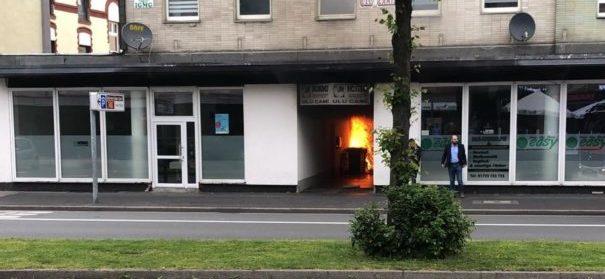 Brandanschlag auf IGMG Ulu Moschee in Hagen (c)privat, bearbeitet by iQ