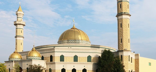 Moschee in Dearborn © Shutterstock, bearbeitet by iQ