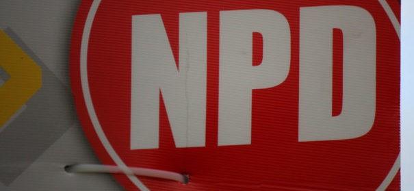 NPD Wahlplakate
