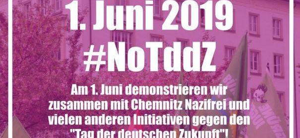 Demonstartion gegen Nazi-Aufmarsch Chemnitz (c)facebook, bearbeitet by iQ
