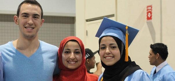 Muslimische Studenten