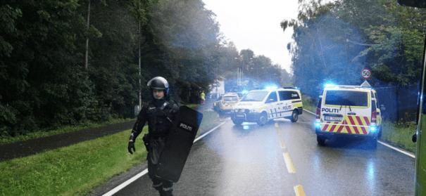 Schüsse in Moschee bei Oslo