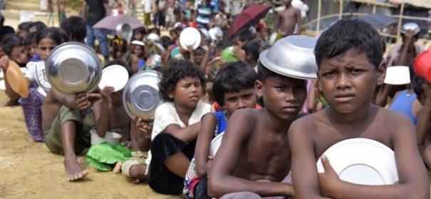 Rohingya-Lager in Bangladesch
