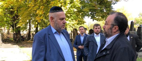Muslime solidarisieren sich mit der jüdischen Gemeinde