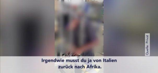 Rassistisches Video aus Sinsheimer Betrieb (Facebook) bearbeitet by iQ