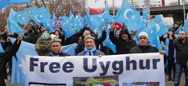 Proteste gegen China, Tausende demonstrieren für die Freiheit der Uiguren