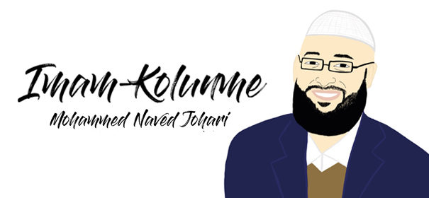 Imam Mohammed Naved Johari © IslamiQ, illustriert HC.