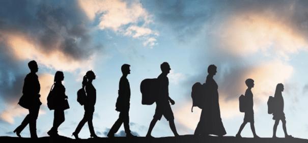 Symbolbild Migration und Einwanderung