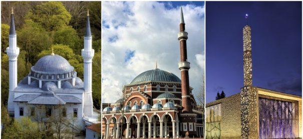 Moscheearchitektur, Moscheen in Europa © Perspektif, bearbeitet by iQ.