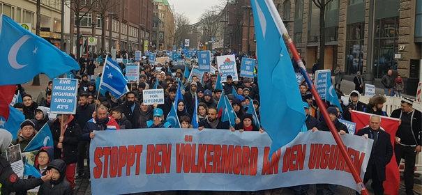 Kundgebung Uiguren