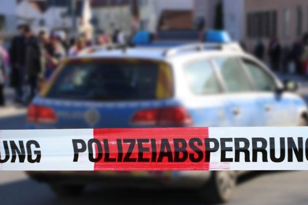Polizei Absperrung Moscheen