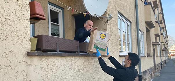 Nachbarschaftshilfe © Facebook, bearbeitet by iQ
