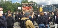 Demonstration in Dresden © @zynplnd, bearbeitet iQ